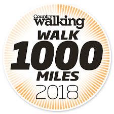 walk 1000 miles 2018