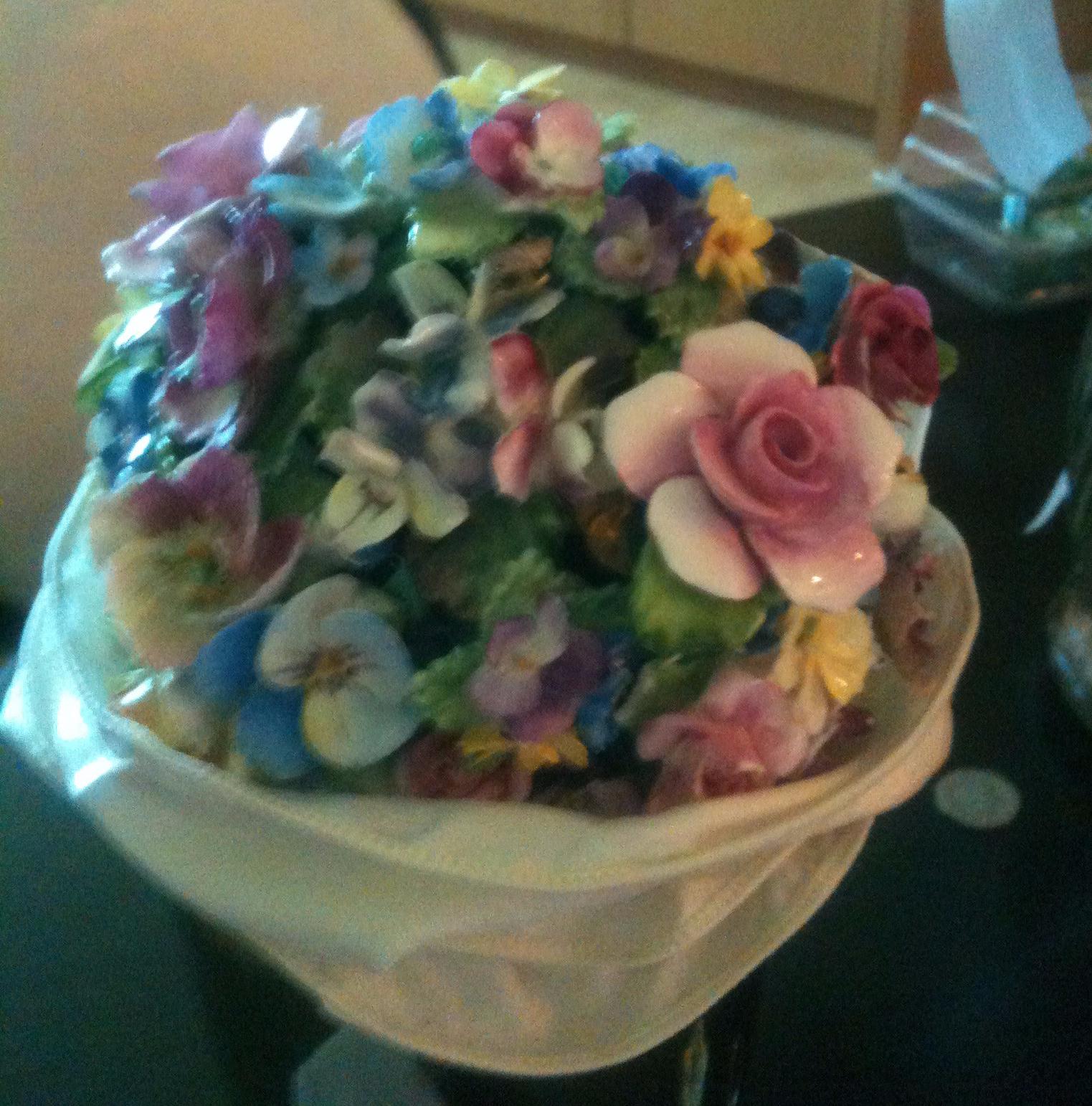 Coalport Wedding Bouquet
